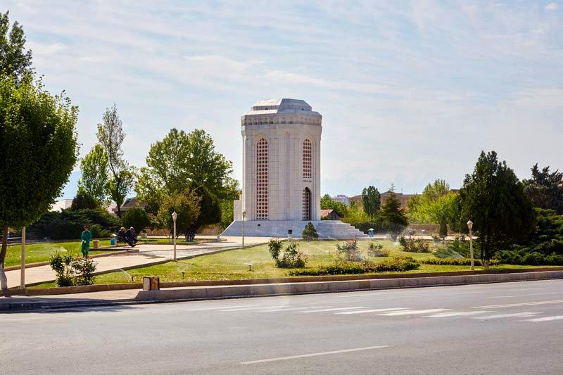 The tomb of Husein Javid
